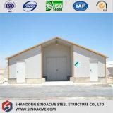 Vorfabriziertes Stahlkonstruktion-Bratrost-Geflügelfarm-Haus