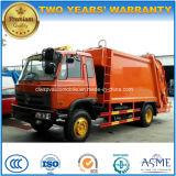 Rhd 4X2 camion d'ordures de compacteur de 8 T 8 tonnes de camion bourré par presse d'ordures pour l'exportation