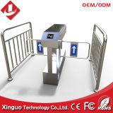 Puerta automática alejada de la barrera de la solapa del oscilación del control de muchedumbre del acero inoxidable