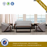Sofa moderne de bureau de divan de cuir véritable de meubles de bureau (HX-CF018)