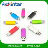 Azionamento dell'istantaneo del USB del telefono di Pendrive dell'istantaneo di memoria del metallo USB3.0 del bastone del USB di OTG