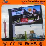 O brilho elevado RGB P10 da tela ao ar livre Waterproof o anúncio do indicador de diodo emissor de luz