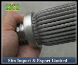 Filtre tissé de cartouche de maille d'acier inoxydable