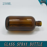 250ml Amber Cosmetic Creams Packaging Glass Lotion Bottle