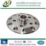 Piezas de aluminio que trabajan a máquina