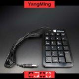 Clavier de câble mince portatif de numéro du Tableau mini USB de tisonnier de baccara pour l'ordinateur portatif particulièrement pour le système Ym-Kd02 de baccara