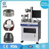 Laser-Markierungs-Maschine der Faser-20W für Metall, Uhren, Kamera, Autoteile, wölbt Faser