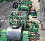 Ligne de découpage de cisaillement de bobine de tôle d'acier de fer blanc machine