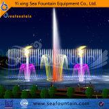 Matériau en acier inoxydable Combinaison Type d'eau Lake Floating Fountain