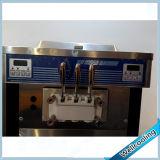 Congelación de Electro de gran tamaño de la máquina de helados con doble compresor