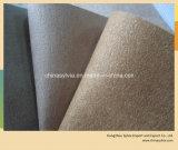 Cuoio del rivestimento del pattino della pelle scamosciata