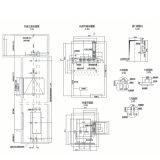 Faible prix de l'Hôpital d'Ascenseur Lit Professional Fabricant de l'élévateur