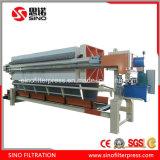 Máquina hidráulica da imprensa da placa e de filtro do frame para a secagem da lama