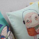 Descansos decorativos da planície quadrada do algodão para o sofá