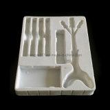 Оборудование зубоврачебной микстуры PS Flockingwhite оборудует поднос волдыря продукта упаковывая