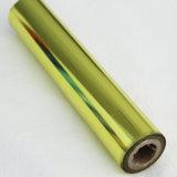 Papier d'aluminium de lave de couleur rouge d'estampage de clinquant de clinquant chaud sage de transfert thermique