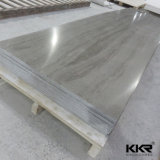 6mm piedra de acrílico superficie sólida ducha panel de pared (M1704271)