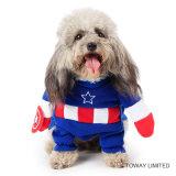 Design Pet Clothes Dog Products Costume Costume Captain Dog aux États-Unis