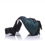 El ocio de la capacidad grande de los bolsillos de los hombres se divierte el bolso del mensajero que monta el pecho impermeable multiusos de la lona de Oxford del bolso del teléfono móvil