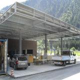 Costruzione d'acciaio della stazione di servizio del blocco per grafici del fascio