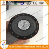 Potência média de alumínio Cable25kv da tensão do UL