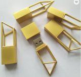 Creative3.0/2.0 USB 8 Go de Hollow Out métal Silver/Gold de mémoire flash USB Pen Drive Bâtiment forme de disque USB Stick