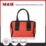 Sac à main portatif de créateur de sac à main de femme d'achats d'unité centrale de rouge
