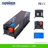 500W de onda senoidal pura inversor carregador, função UPS, 12VDC, 230VAC, 50Hz inversores solares