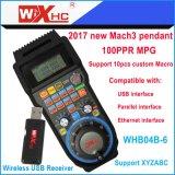 6 축선 Mach3 축융기 이용된 무선 USB 펜던트 Mach3 원격 제어 Mpg