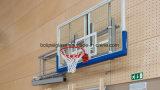 Le verre trempé clair 12mm Backboards de basket-ball avec rembourrage de PU