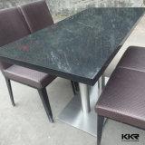 Resistente a Manchas moderna superficie sólida sobre la mesa de comedor