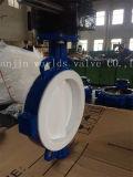 Полный тип клапан-бабочка вафли покрытия PTFE с ISO одобренным Wras Ce (CBF04-TA01)