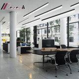Modernes einfaches schwarzes Quadrat-hängendes Licht mit Esszimmer