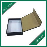 Caixa de presente de papel de papelão magnético impressa de superfície