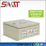 Snat PV Arrays Solar Combiner Box 4 em 1 out DC Solar Junction Box para Sistema Solar