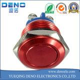 Metallo LED che aggancia l'interruttore basculante di potere del pulsante