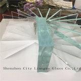 vidrio ultra claro del vidrio/flotador de 5m m/vidrio claro para los muebles