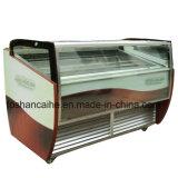 Showcase duro do indicador do gelado de Gelato das bandejas de Xsflg 12-24