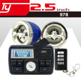 Audio caliente impermeable de la venta de la alarma de la motocicleta del reloj de la visualización de LED