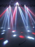éclairage mobile de disco d'étape légère du DJ de tête de la lumière DEL de faisceau de dîner de 4*25W DEL