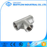 Fitting Screw API 150lbs de soldagem Threaded Reducing Tee Pipe Fitting