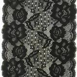 Cordón estupendo del telar jacquar de la calidad del diseño agradable (con la certificación de Oeko-Tex)