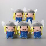 Plush Character Keychain Mini Soft Toys