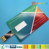 Double côté coutume Carte RFID Businees Carte mémoire Memory Stick USB 4 Go