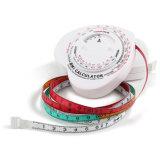Ruban métrique d'INDICE DE MASSE CORPORELLE de corps des soins de santé 1.5m de bien-être de personnel (BMI-017)