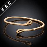 Goldwasser-Absinken-geformtes Armband der Qualitäts-18k für Mädchen