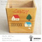 Пользовательские Hongdao деревянные конфеты контейнер для хранения с Логотип оптовой _E