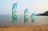 Bandierina quadrata/bandierina di spiaggia/bandierina esterna/bandierina della piuma