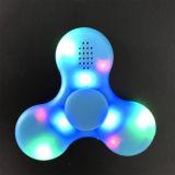 Bluetooth 스피커를 가진 다채로운 손 방적공 장난감