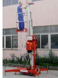 plataforma hidráulica de alumínio do elevador do trabalho 8meters (stype GTWY8-100 novo)
